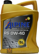 Alpine RS 0W-40 (5L)