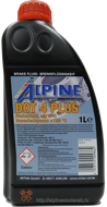 ALPINE Brake Fluid DOT 4 plus (1L)