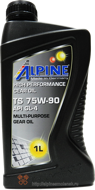 Alpine Gear Oil TS 75W-90 GL4 (1L)
