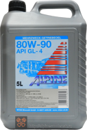 Alpine Gear Oil SAE 80W-90 GL-4 (5L)