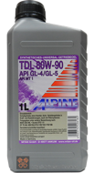 Alpine Gear Oil TDL SAE 80W-90 (1L)
