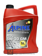 Alpine RSL 5W-30 GM (5L)