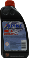 ALPINE Brake Fluid DOT 4 (1L)