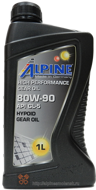 Alpine Gear Oil SAE 80W-90 GL-5 (1L)