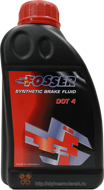 Fosser Synthetic Brake Fluid DOT 4 (0,5L)