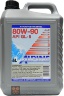 Alpine Gear Oil SAE 80W-90 GL-5 (5L)