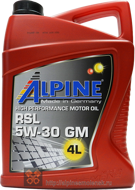 Alpine RSL 5W-30 GM (4L)